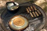 simple camping cuisine