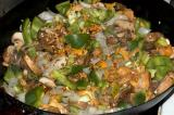 mushroom onion pepper cheesesteak ingredients