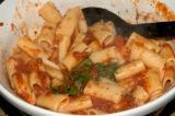 rigatoni pasta with tomato sauce 05 August 05