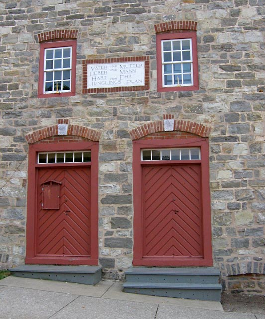 Building on Moravian Campus