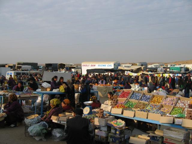 Ashgabat - Sunday market