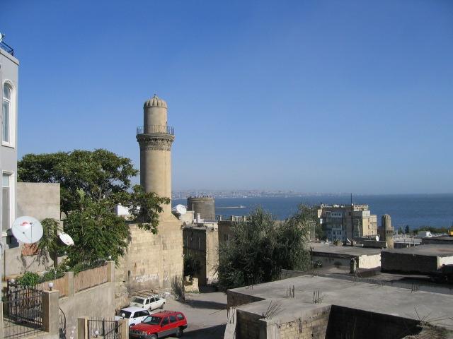 View onto Caspian Sea