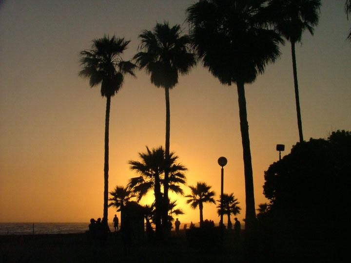 Sunset in Ensenada