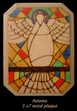 Dove from Stain Glass
