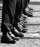 Boots at Bastille Day March