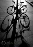 Bike shadow and silhouette - 18 08 05