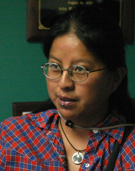 Tina Garnanez<br>(IVAW)*