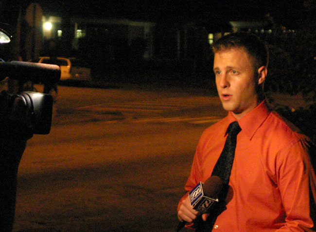 Channel 8 (WRIC) reporting