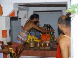 Melkote temple bhattar at Srimath Adivan Sathakopa swami Brindavanam