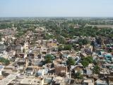 Barsana town