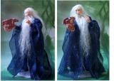 Wizard Aldur with Baby Dragon (SOLD)