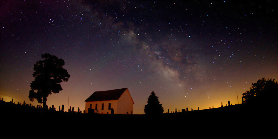 Summer Milky Way & The Old Brick Church