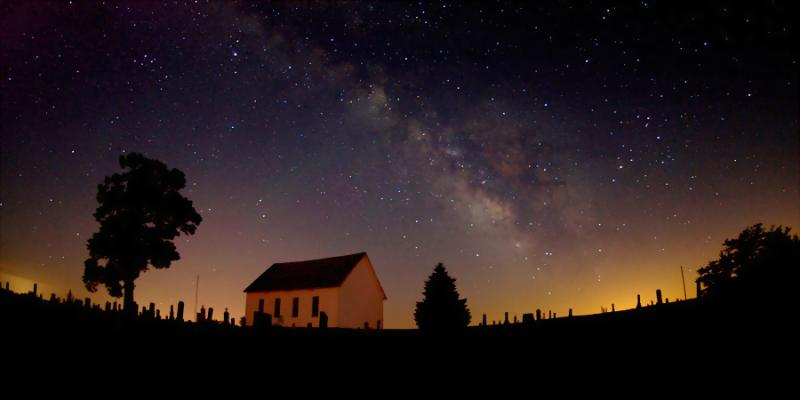 Summer Milky Way & The Old Brick Church