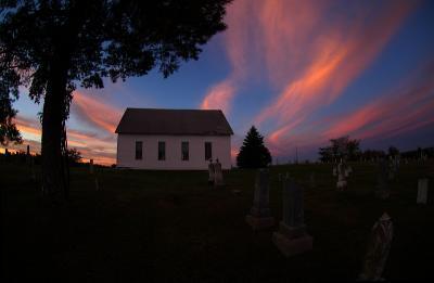Old Brick Church at Sunrise
