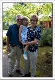 Gma Wanda and Gpa John came Memorial Day
