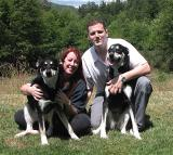 Shannon & Adam & Pups