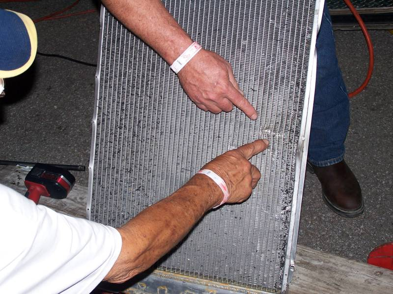 Music City Motorplex July 29 2005 The Radiator I Fixed.