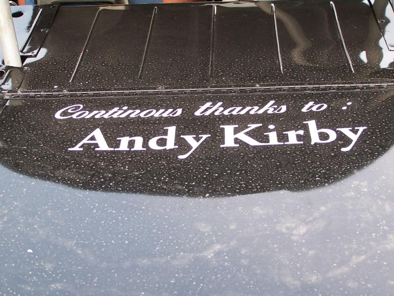 RIP Andy Kirby