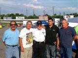 1999 - Stock Car Racing Hall of Fame Inductee Junie Donlavey with the Tony Formosa Racing Family-July 2005