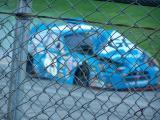 Talladega Fall 2005 Kyle Petty's Awesome  finish.