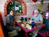 Lunch at the Cancun restaurant