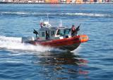 Coast Guard protecting the ferry... from us?