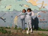 Rachel and Sarah in Port Townsend