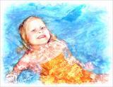 Mariel in Pool