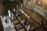 The Stone of the Annointing - Inside the Church of the Holy Sepulchre