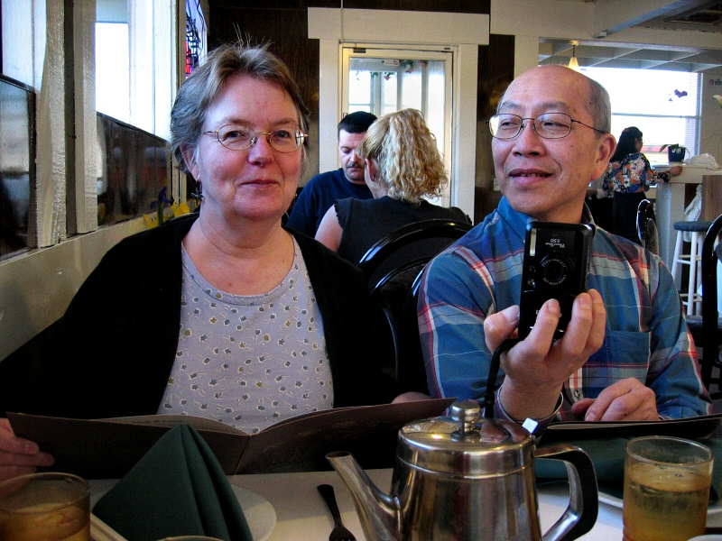Margaret and Robin, with Elph s400, 3/2005