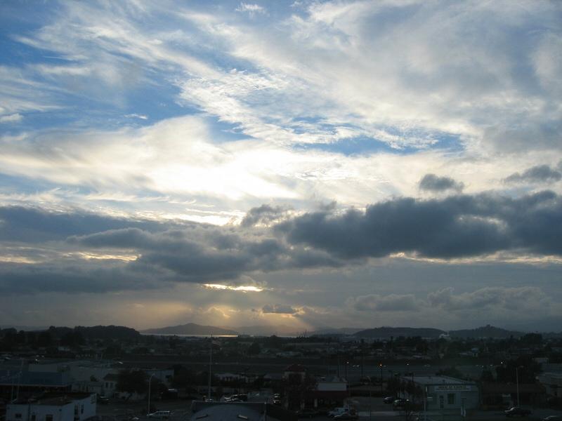 Dec. 4, from El Cerrito hill