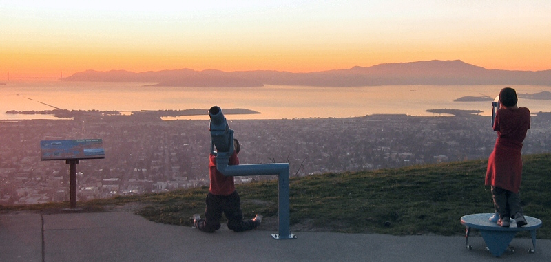 Finding the other view (1st telescope)