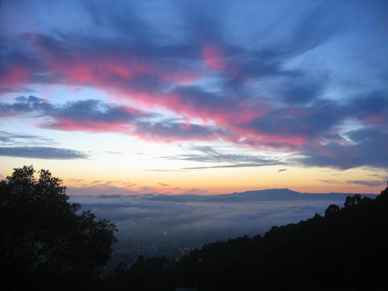 From Berkeley hills toward west
