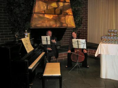 Our ad hoc Trio -- Peggy Thow, John Thow