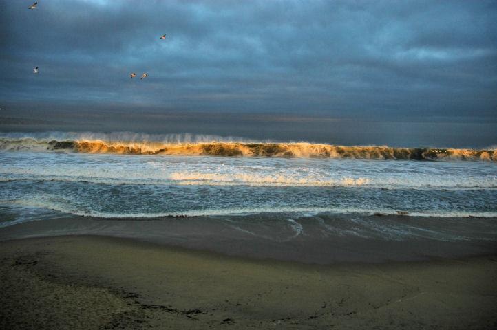 Morning light at Monterey Bay