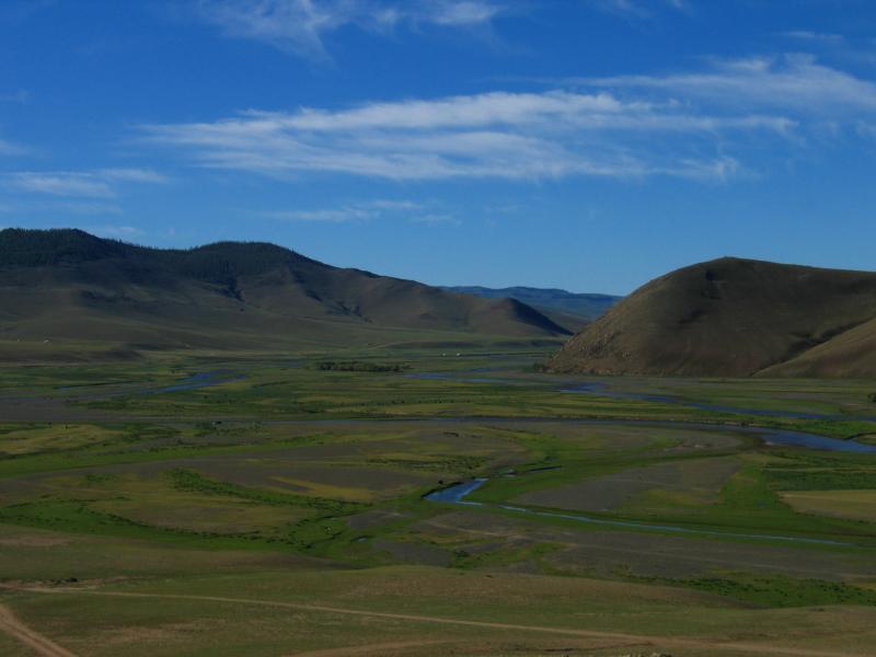 Countryside around Kharkhorin