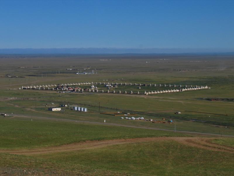 Birds eye view of Erdene Zuu Khiid