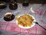 Mmm....mutton and noodles