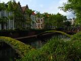 Buildings along a canal in Binnenstad