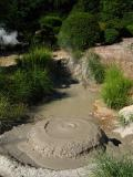 Belching mud pool