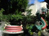 Tacky dragon at Kinryū Jigoku