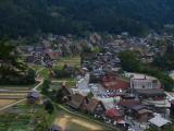 Closer overview of central Ogimachi