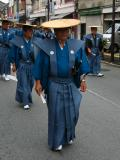 'Warrior' in kamishimo dress