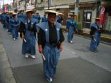 More local men in ceremonial warrior dress
