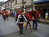 Horseback child daimyō