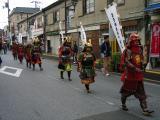 Group of samurai