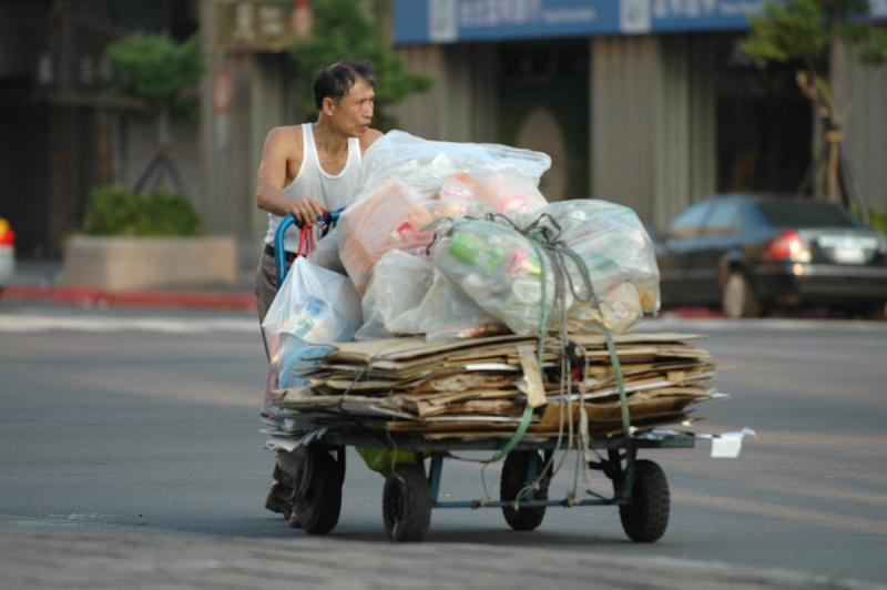Recycle collector