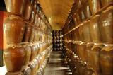 Wine factory display