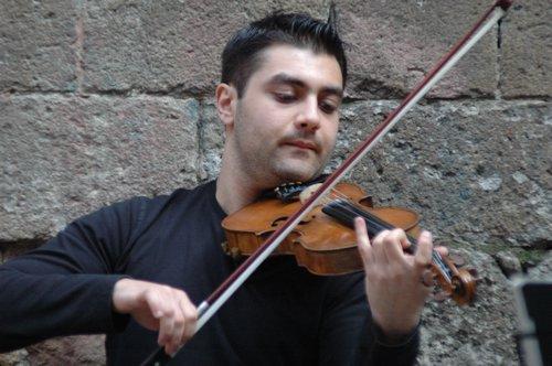 Top-notch violinist
