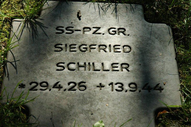 Grave of an SS man